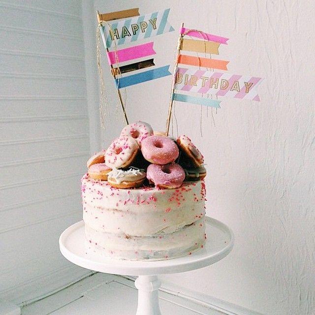 Round Th Birthday Cake