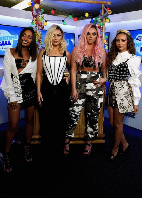 Little Mix at Capital FM Summertime Ball 10/06/2017