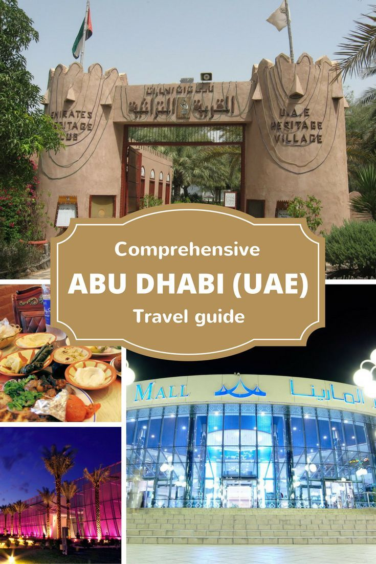 A Comprehensive Guide To Abu Dhabi Best