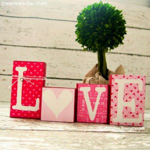 Unique homemade Valentine crafts ideas. Make creative home or party Valentine decorations. Valentine gift ideas for kids, teachers, him, her. Valentine crafts for adults to make. 60 Romantic ideas.