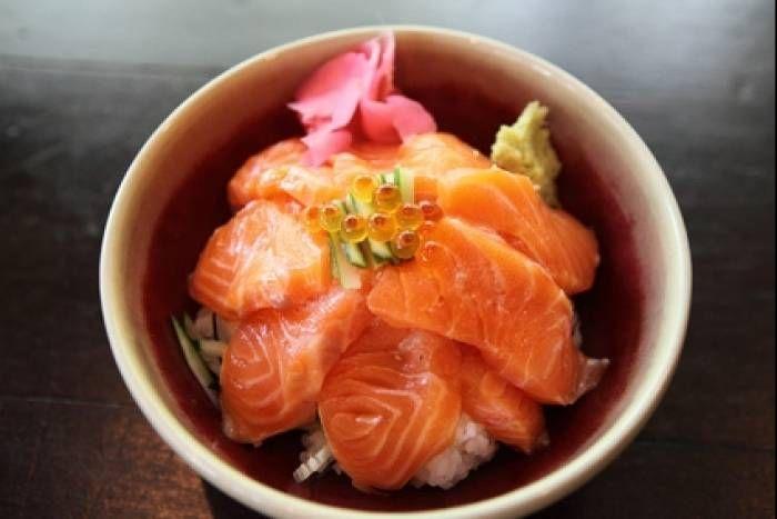 Recette de Chirashi de saumon