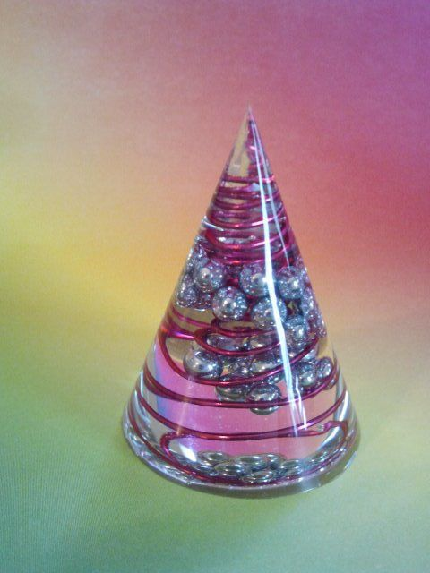 Orgonite Cone  Quartz Crystal Healing  Positive Orgone by angie317, $14.00