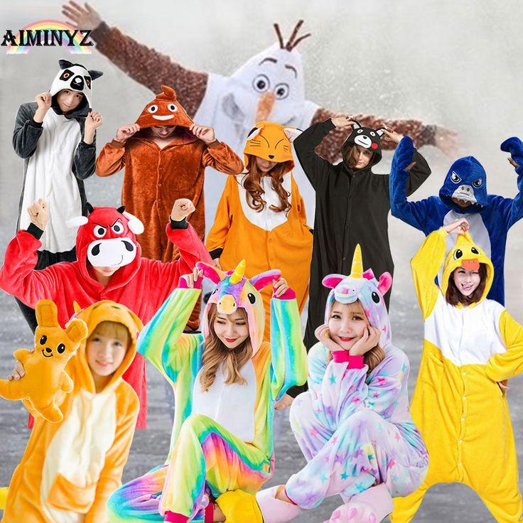 Women Halloween Pyjama Licorne Femme Adult Unicorn Pajamas Winter Christmas Children Animal Cartoon Sexy Mens Cosplay Onesies. Yesterday's price: US $37.85 (31.09 EUR). Today's price: US $18.55 (15.10 EUR). Discount: 51%.