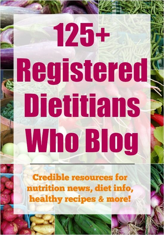 Have nutrition questions?  Here are 125 Registered Dietitians who blog - great CREDIBLE resources for nutrition news, diet info, healthy recipes and more! from @lclivingston