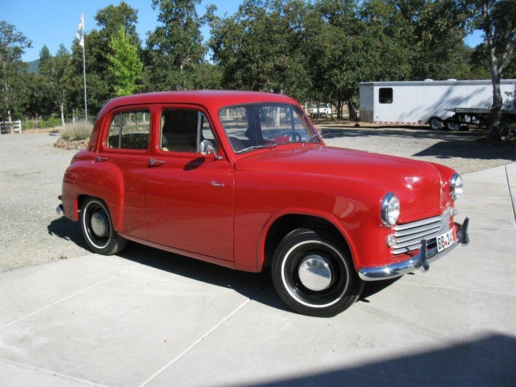 1950 Hillman Minx Sedan <wow, I was ten when I first drove this around the farm field! Tough shift pattern as I remember.>