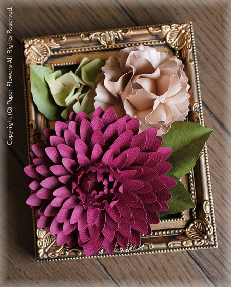 Paper Flower Paper flowers ScanNcut