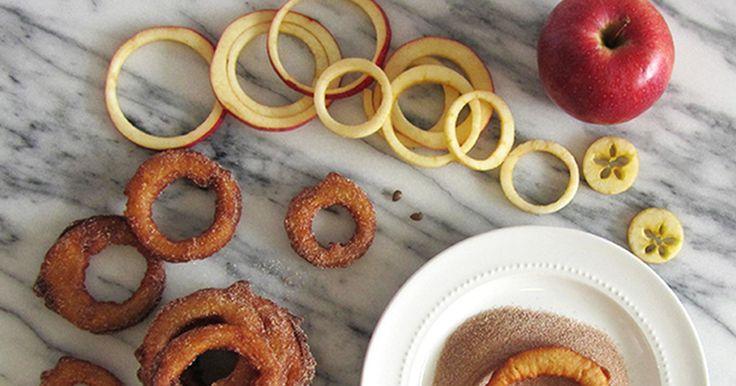 Jablečné skořicové kroužky