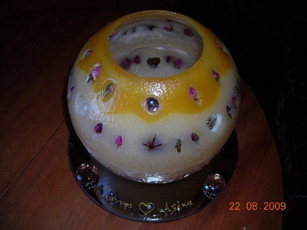 my candles (χειροποιητα κηροτεχνηματα) κερια για γαμο
