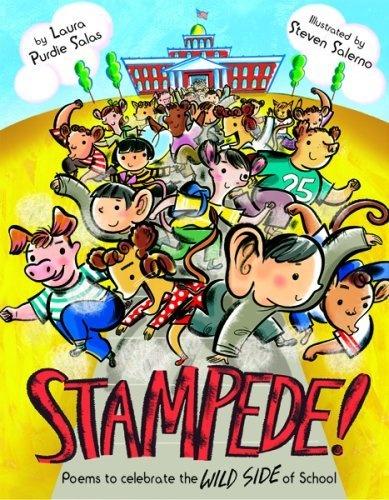 Stampede!: Poems to Celebrate the Wild Side of School by Laura Purdie Salas, http://www.amazon.com/dp/B007BWH5H6/ref=cm_sw_r_pi_dp_dTKEqb1KJ3NJM