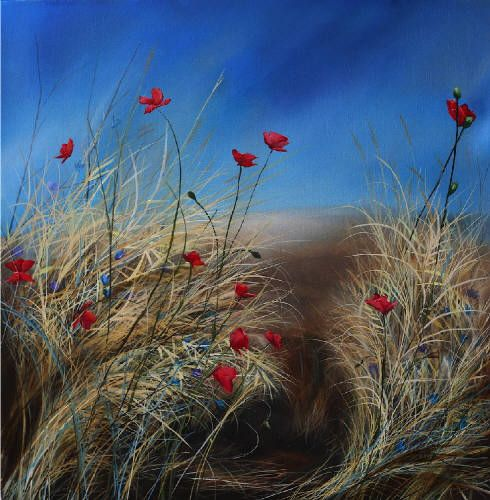 Poppies - Richard Cole Richard Cole exhibition at Canada House, Banff, AB, Canada