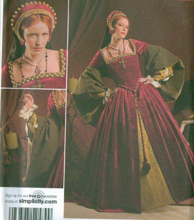 105 Best Images About Renaissance Sewing Patterns On Pinterest: 183 Best 16th Century Fashion: Renaissance, Tudor, & Early