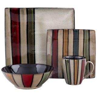 Sango Vertigo Striped Dinnerware Set - Overstock™ Shopping - Great Deals on Sango Casual Dinnerware  sc 1 st  Pinterest & 27 best MIKASA images on Pinterest | Mikasa Bowls and Serving bowls