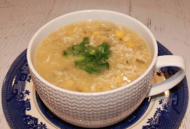 I have literally been making this easy Chicken and Corn soup for years. It's so easy and regularly makes an appearance in our house.