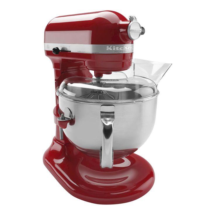 KitchenAid Professional 600 Series 6-Quart Bowl-Lift Stand Mixer - KP26M1X, Empire Red