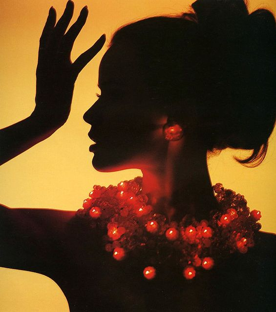 Veruschka, photo by Bert Stern for LOOK magazine, 1963.