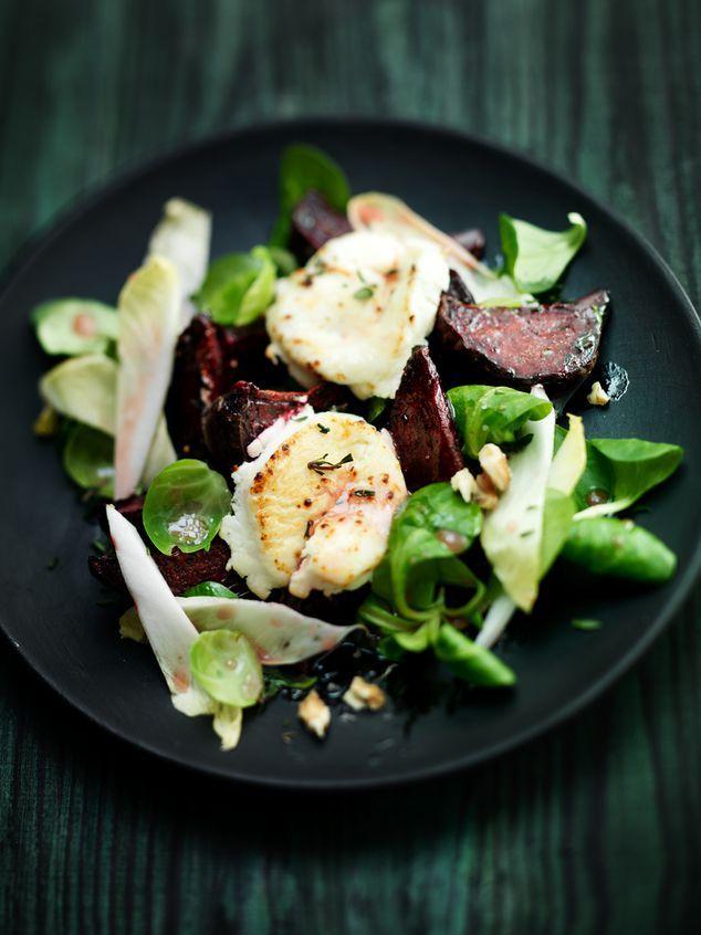 wintersalade met geitenkaas en frambozendressing | ZTRDG magazine