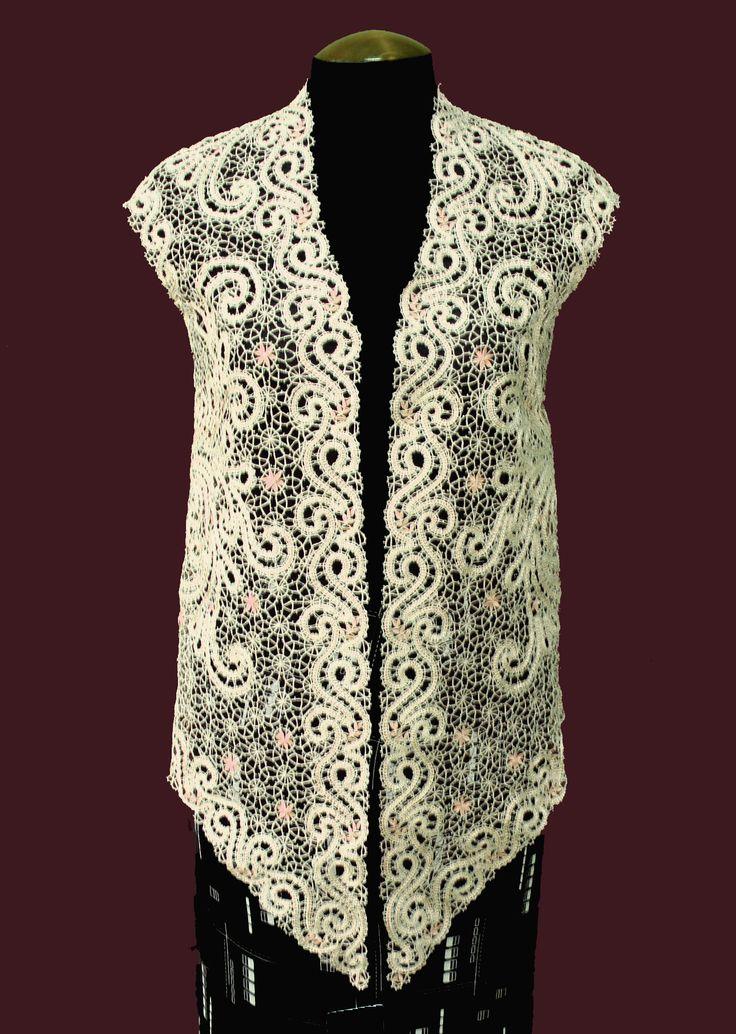 Сколок — Блуза без рукавов, р-р. 48 | Сколки от Кружевницы-Мастерицы