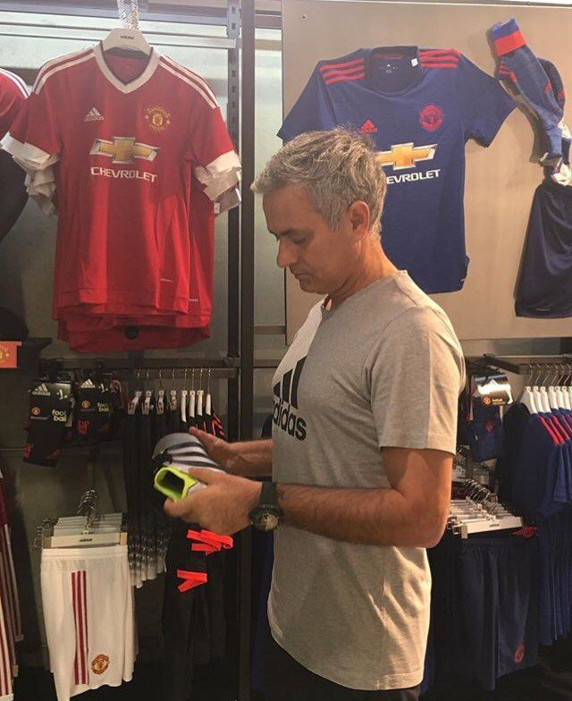Jose Mourinho on Instagram - 10th June 2016