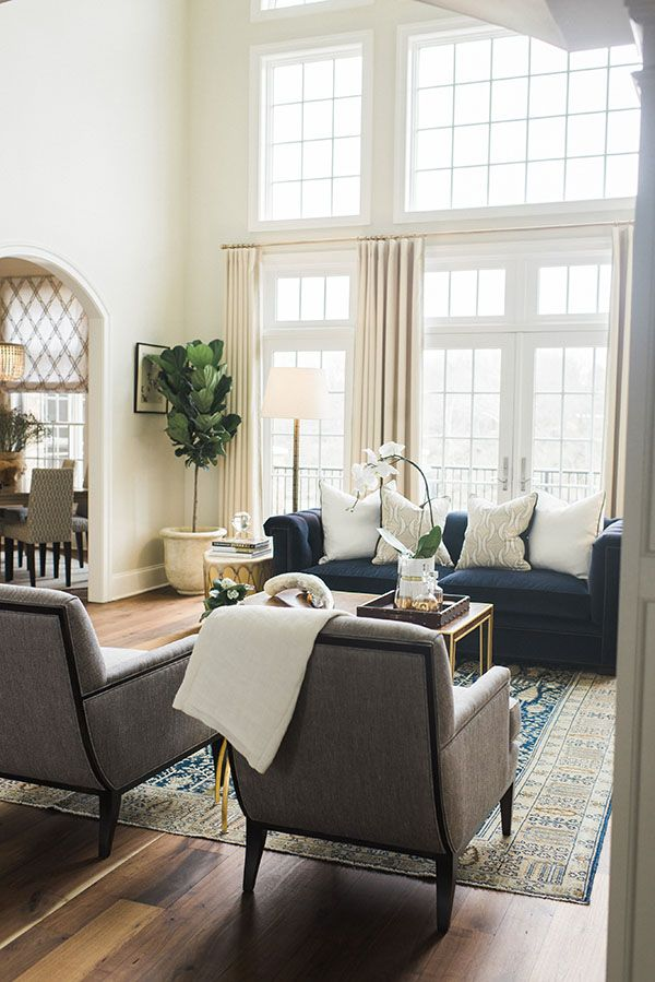 A stunning traditional hagerstown home tour classique for 2 living rooms in one space