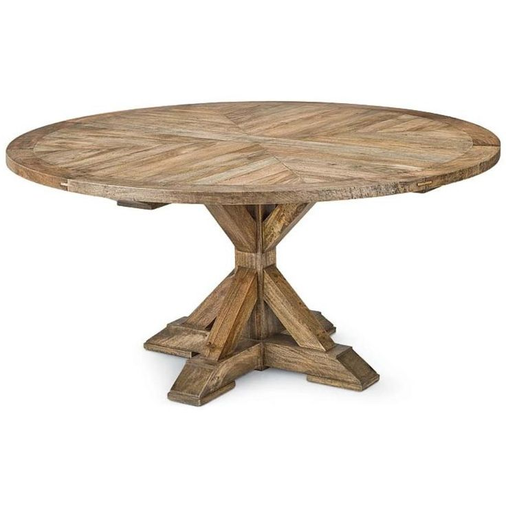 Beautiful 30 Inch Round Side Table