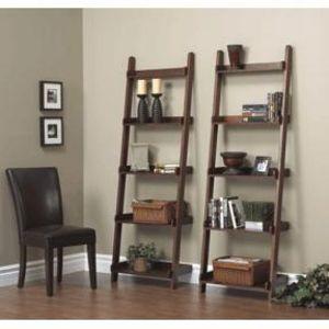 Ladder Display - Cherry Finish