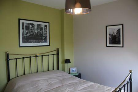 Transformation d'une chambre d'enfant en chambre d'amis à l'ambiance chaleureuse - Après
