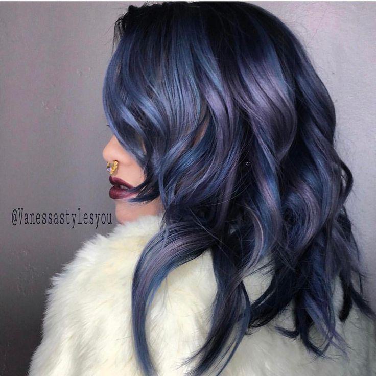 "1,082 Likes, 15 Comments - American Salon (@american_salon) on Instagram: ""Denim hair dreams 💙 #regram @vanessastylesyou #americansalon"""