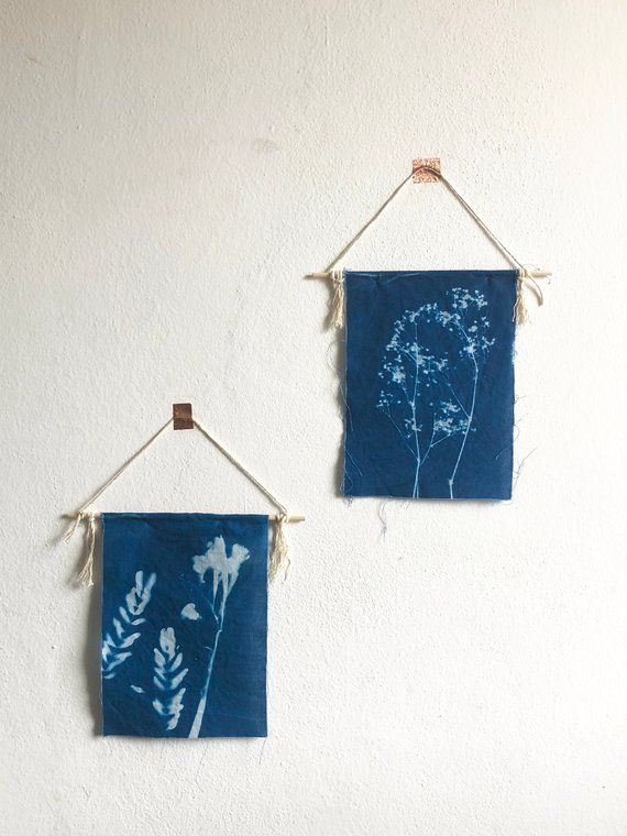 Do It Yourself Home Decorating Ideas: DIY Cyanotype Kit // Creative Time // Cyanotype Flags
