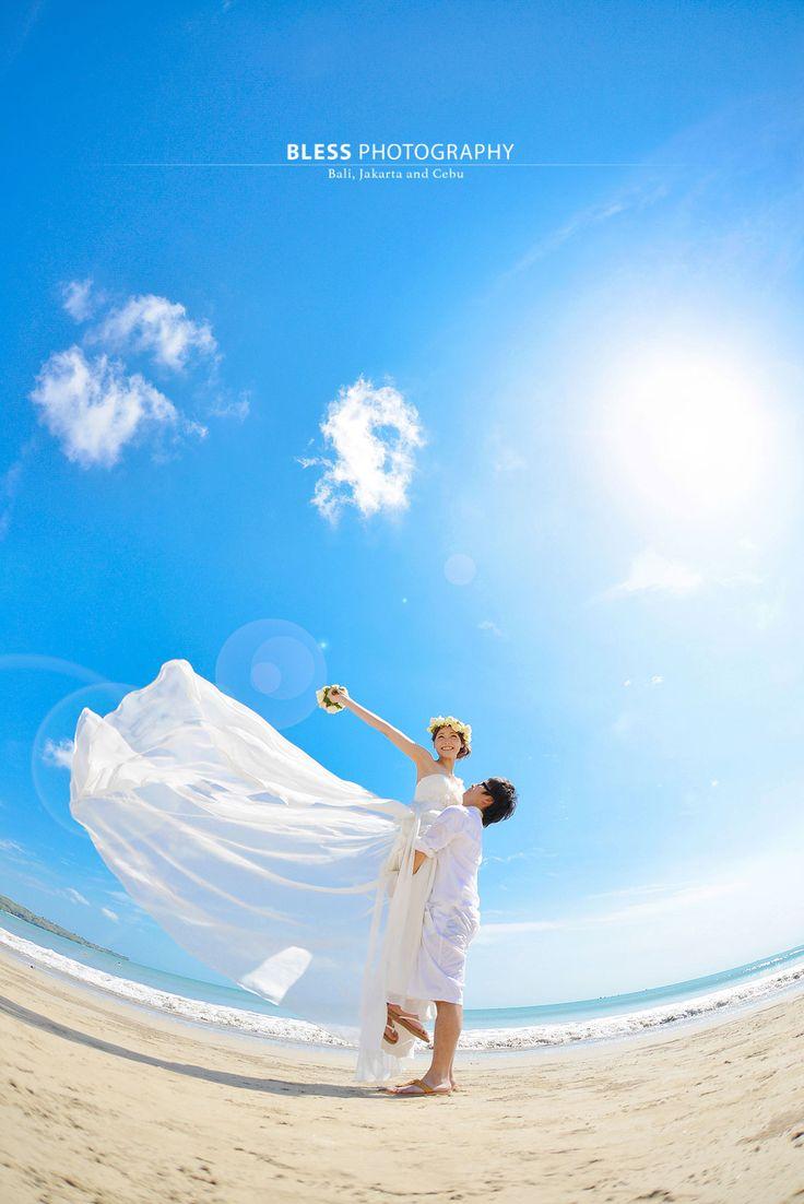 昼間のビーチ ギャラリー|フォトウェディング|バリ島撮影会社 BLESS(ブレス)