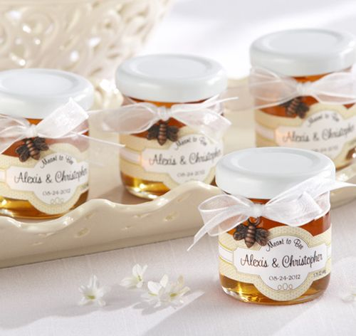 Meant to Bee Clover Honey Jar Favors | Honey Wedding Favors