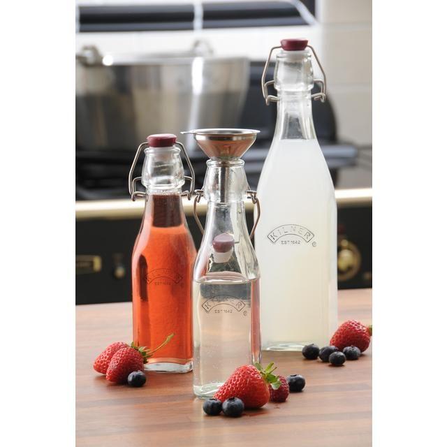 Kilner Clip Top Preserve Bottle 1L