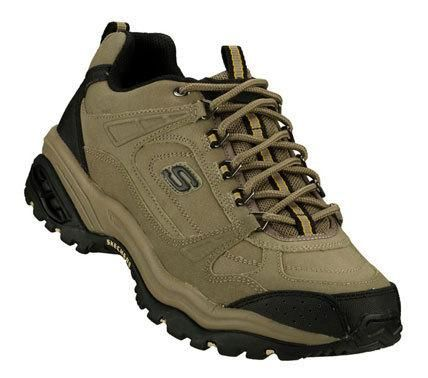 SKETCHERS Mens Beige Energy 3 Punisher Lace-up Sneakers