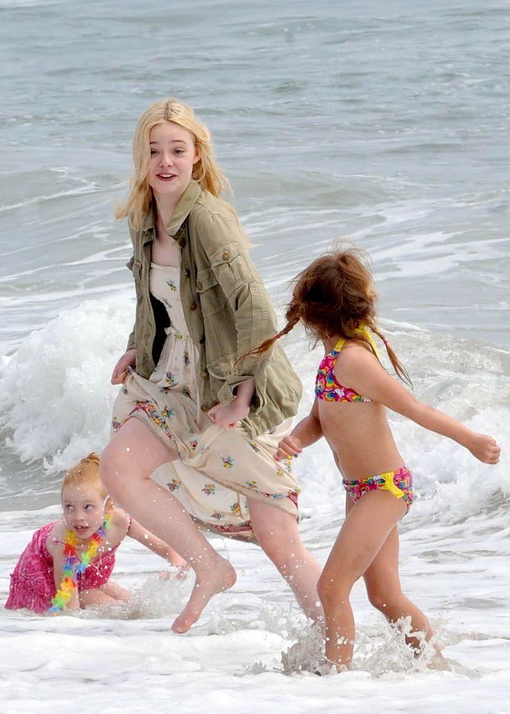elle fanning beach | elle fanning beach