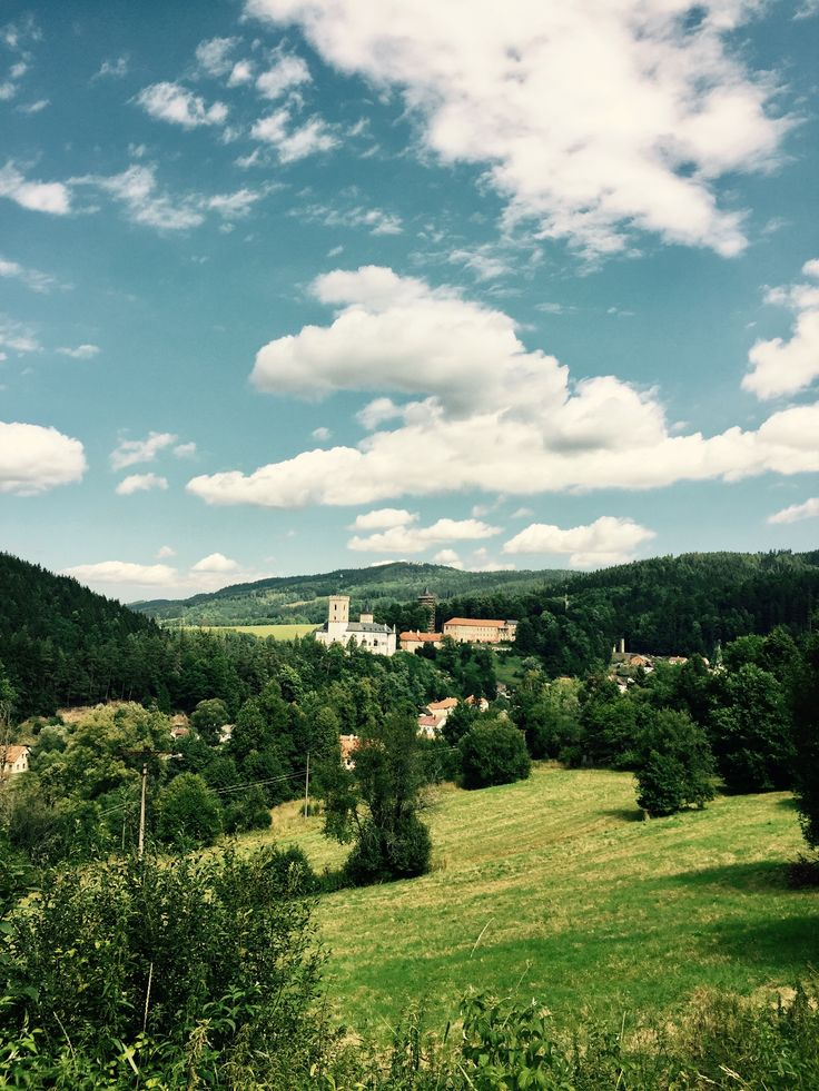 Rožmberk nad Vltavou. South Bohemia. Beautiful.