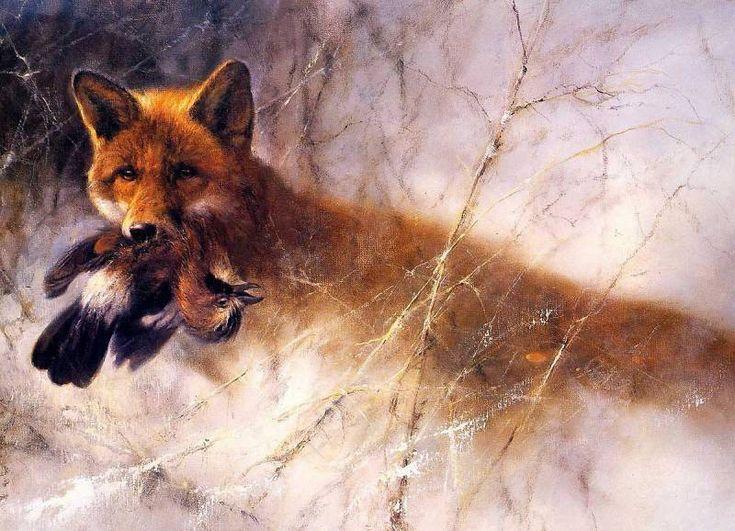 Голландский живописец Rien Poortvliet/ Иллюстрации ...