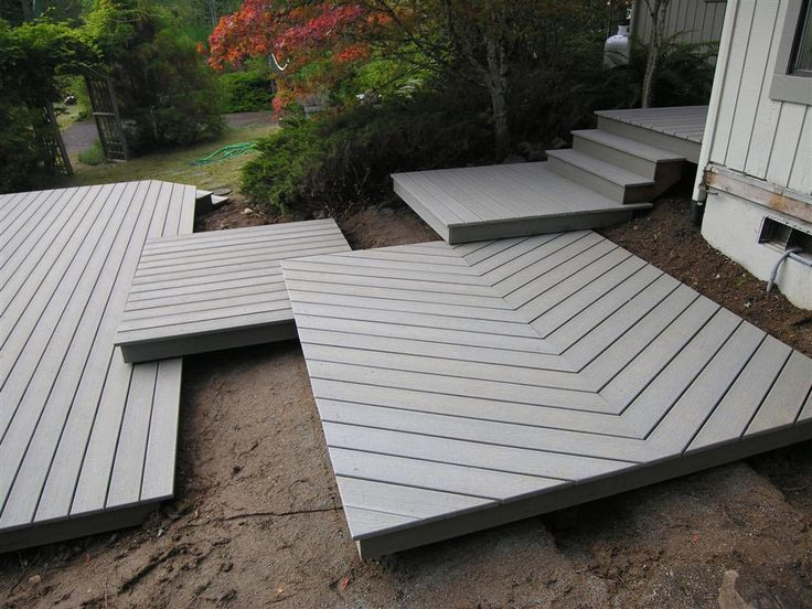 One of these 9 ideas is your next deck wood decks decks for Building a composite deck