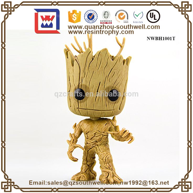 Wholesales Hot Toys Groot Funko Pop Custom Plastic Action In Free Cartoon Movie