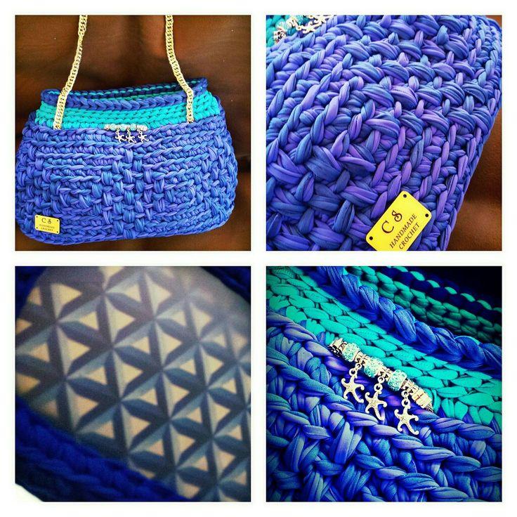 Borsa handmade Fb page Handmade crochet  #handmadecrochet #fattoamano #handbag #uncinetto