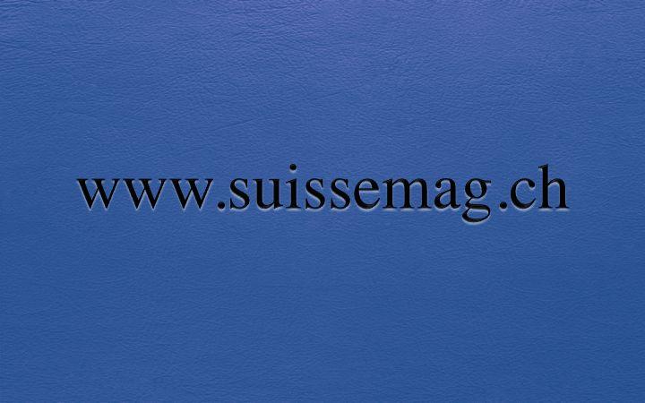 www.suissemag.ch Premium Domainname Verfügbar für Akquisition auf / Nom de Domaine Premium Disponible pour Acquisition sur / Premium Domain Name Available for Acquisition on www.spotnet.ch für / pour / for 3'500.- CHF