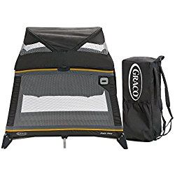 Graco Pack N' Play Playard Jetsetter Sunshine Yellow and Grey