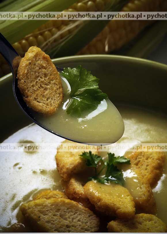 Zupa chlebowa z czosnkiem