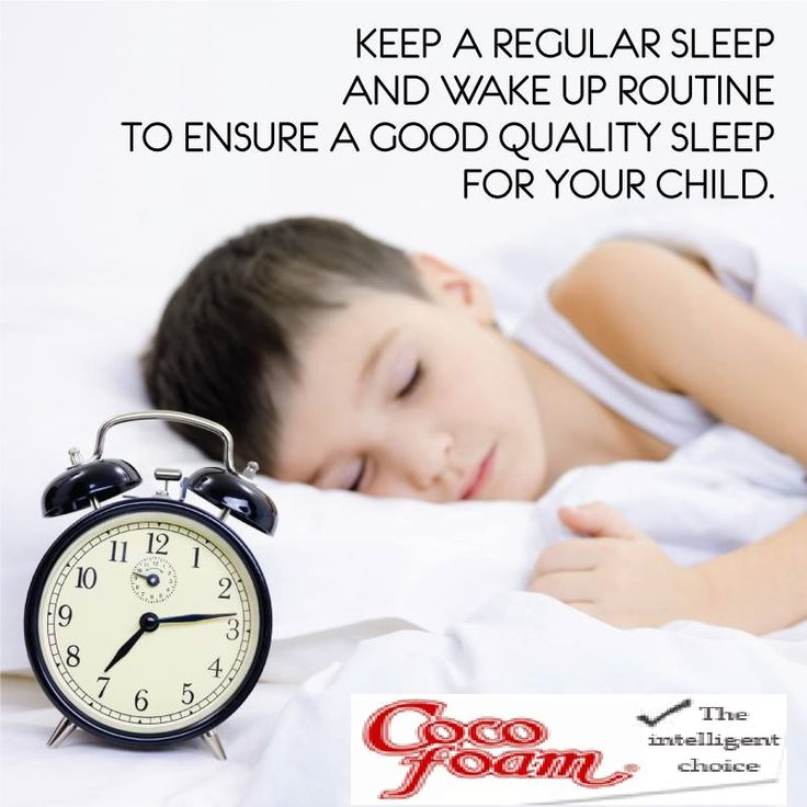 Routines ensure good sleep. www.cocofoam.in   For more...