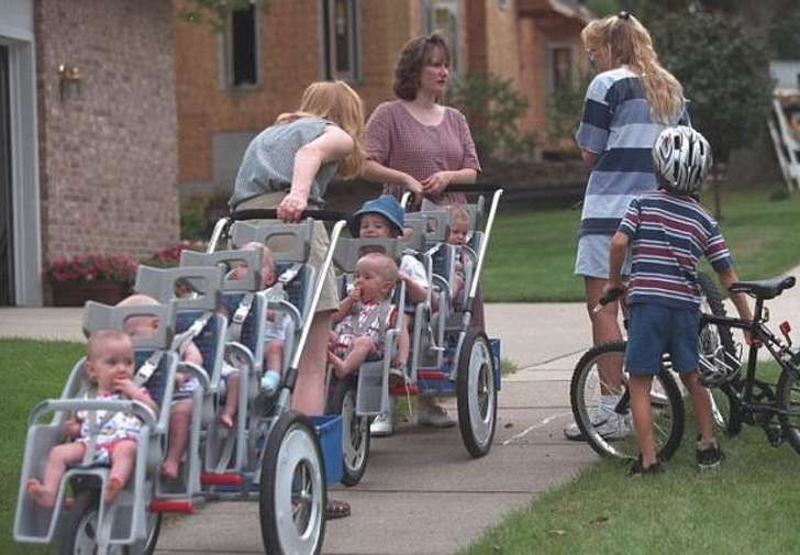 18 years ago, the McCaughey family welcomed seven new babies. They were the first septuplets to ever survive childbirth, and today, they're doing better than ever.