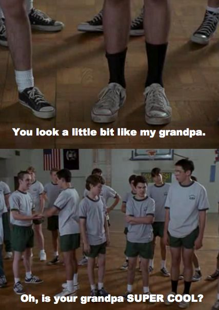 Bill Haverchuck on Freaks and Geeks dont they wear black socks now, in the 20teen's?