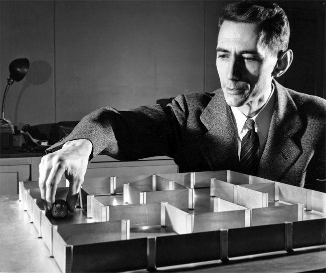 Claude Shannon. Proiectul Tezeu