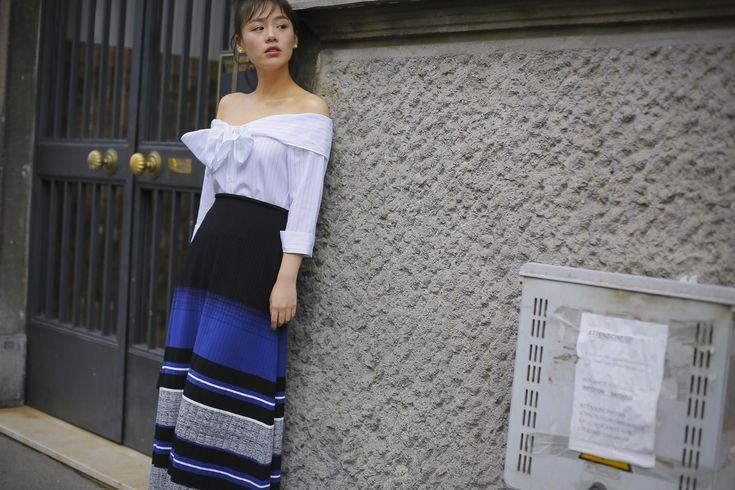 Стритстайл недели моды в Милане | Блогер alfa-omega на сайте SPLETNIK.RU 25 сентября 2016 | СПЛЕТНИК