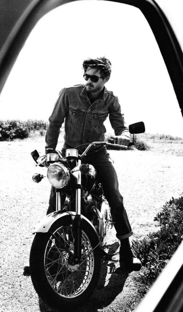 As real as the many girls with bike photos....maybe he could be half naked ;-) LOL