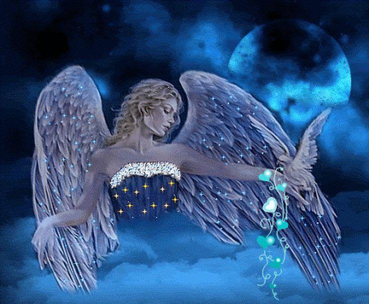 красивые ангелы гифы