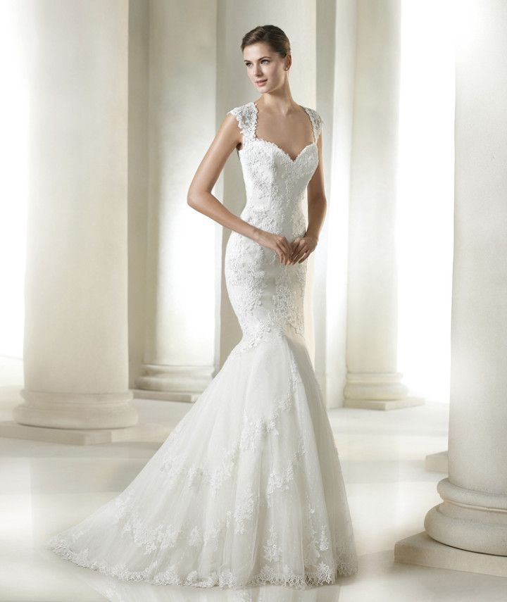 A timeless silhouette we love from San Patrick Bridal Collection 2015
