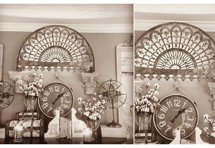 Arch Relic Decorative Arch Relic Aged Metal Filigree